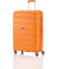 Oranžové Pánske cestovné kufre  0c2f9ff477c