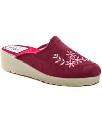 Italy King 60 bordó dámské papuče 2058d9f606