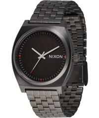 Nixon Analogové hodinky  Time Teller  stříbrně šedá dbfc7466511