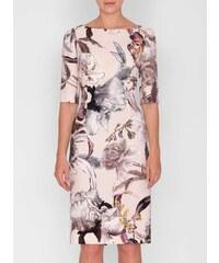 Barevné elegantní šaty - Glami.cz 898eae9308