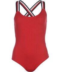Jednodílné plavky Tommy Hilfiger Bodysuit Červené 971c73a309