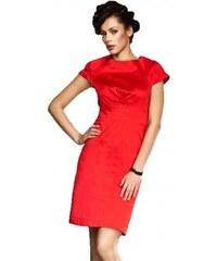 e1af5050fc Elegantné červené puzdrové šaty s10 Nife 463