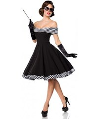 Elegantné retro šaty a lá Dita od Belsira Belsira 50053. 50 ... 1d9969746fa