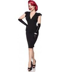 Elegantné čierne retro šaty Belsira Belsira 50080 9e5889e4b94