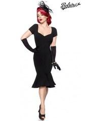 Očarujúce čierne vintage spoločenské šaty Belsira 50085 8d4c1dcd7ef