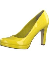 9368e0e7885 TAMARIS Lodičky žlutá