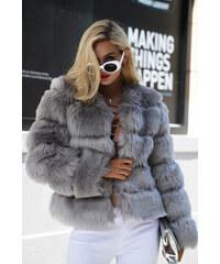 4878fb7699a Perfect Hodně teplý a krásný chlupatý kožich kabát