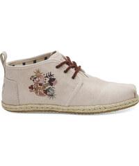 c63a32adf7 Dámske ružové členkové topánky TOMS Embroidery Botas
