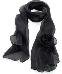 89fc43d0f03 Dámský černý šátek Celia 32052
