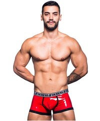 ANDREW CHRISTIAN boxerky červené FUKR S lit Boxer 90459 e90e25a756