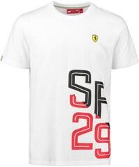 d183545892 Branded Scuderia Ferrari pánske tričko white SF 29 F1 Team 2018