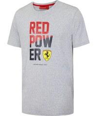 d050c726d0 Branded Ferrari pánske tričko Red Power grey F1 Team 2016