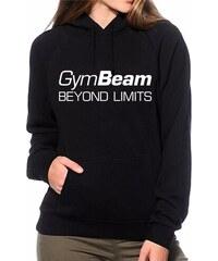Dámská mikina Beyond Limits Black White - GymBeam 259bfc86b87