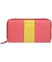 4b970f4b35b Dámská kožená peněženka Lagen Lea - světle růžová - Glami.cz