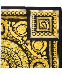 Versace Silk Foulard Signature Scarf - Black 2318f9c490b