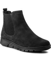 Magasított cipő CAPRICE - 9-25448-21 Black Nubuc 008 545180e0d3