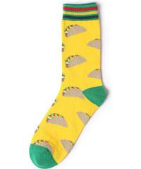 2635f563bff Žluté pánské ponožky