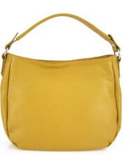 Diva Természetes bőr Sárga   barna Táska cod. TR991-Yellow+Brown ... 91fb5865dc