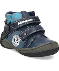 Bubblegummers Dětské kotníkové boty na suché zipy modré 7cde0881ff