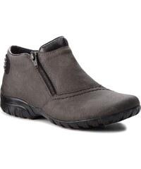 Magasított cipő RIEKER - L4662-45 Grau Kombi 6cd9332298