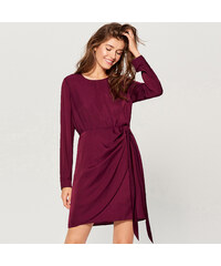 780915da0e6d Koucla Ružové čipkované šaty s dlhým rukávom - Glami.sk