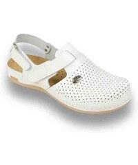 ea83b52351 Dámska kožená obuv - zdravotné papuče LEON vz. 951 36