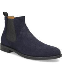 Vagabond Tmavě modrá kožená pánská Chelsea obuv 19a0a35302c