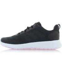 8f2d727873a adidas CORE Dámské tmavě šedé kotníkové tenisky Hoops 2.0 Mid - Glami.cz