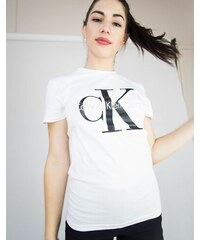Dámské triko Calvin Klein Short Bílé becfee9f6e