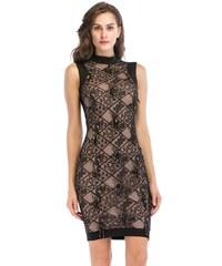 Dámské elegantní šaty Sarda černé - černá 1ef1f9d9425