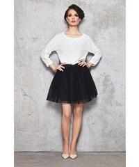 7a86f093fd14 INFINITE YOU Čierna áčková dámska sukňa IFM046