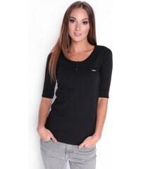 OXYD Čierne dámske tričko OX 2504 c0bfdfdc9c0