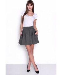 20c0a7506aeb OXYD Grafitová sukňa OX 10004