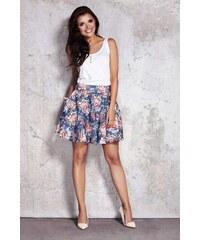 6ab1b0a7662f INFINITE YOU Kvetovaná dámska áčková sukňa IFM054