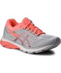 Boty ASICS - GT-1000 7 1012A030 Mid Grey Flash Coral 021 d06877126b