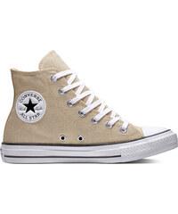 ad405048496 Converse zlaté tenisky Chuck Taylor All Star Hi Light Twine White Black - 41