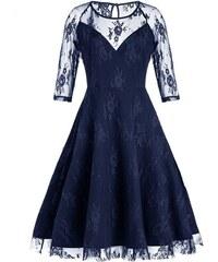 Dámské společenské šaty Itotia modré - modrá cdafad5030