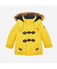 3665aa613227 Chlapčenský zimná bunda žltá MAYORAL 2475-048 gold