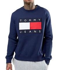 Tommy Hilfiger Pánská mikina TOMMY JEANS - navy fb659f23ab