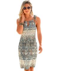 571a594d70f1 NoName Dámské šaty letní etno šedé