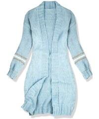 aa209a86981c Butikovo Baby blue sveter s pásikmi na rukávoch