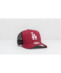 c21ae8d0f24 New Era 9Forty MLB Los Angeles Dodgers Trucker Burgundy  Black