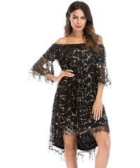 Dámské koktejlové šaty Abasalo černé - černá bbda559c72