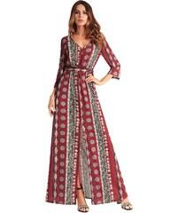 9d901a4cfe9 Dámské letní šaty Alded červené - červená