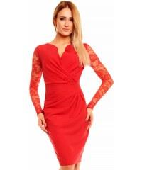 86722fb8802 Červené společenské šaty z obchodu Ego-Man.cz - Glami.cz