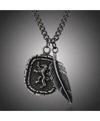 Manoki Pánský ocelový náhrdelník Edward 1672ece4b7d