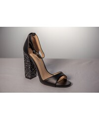 c6a81dc0bb2b8 Angel Blue Sandale elegante dama Melissa KFL 422 Negru glitter