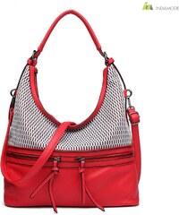 7468dfc21d Anna Grace piros színű női táska 2018-as modell. Termék részlete. Miss Lulu  Akciós női válltáska E1853