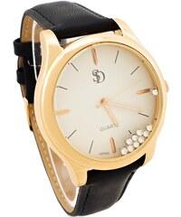 SD Dámské hodinky Bellos Delikate černé 731D 6e6796f4b4