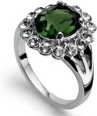 Prsten s krystaly Swarovski Oliver Weber Genuine Emerald 52 mm ccfaa27c12f